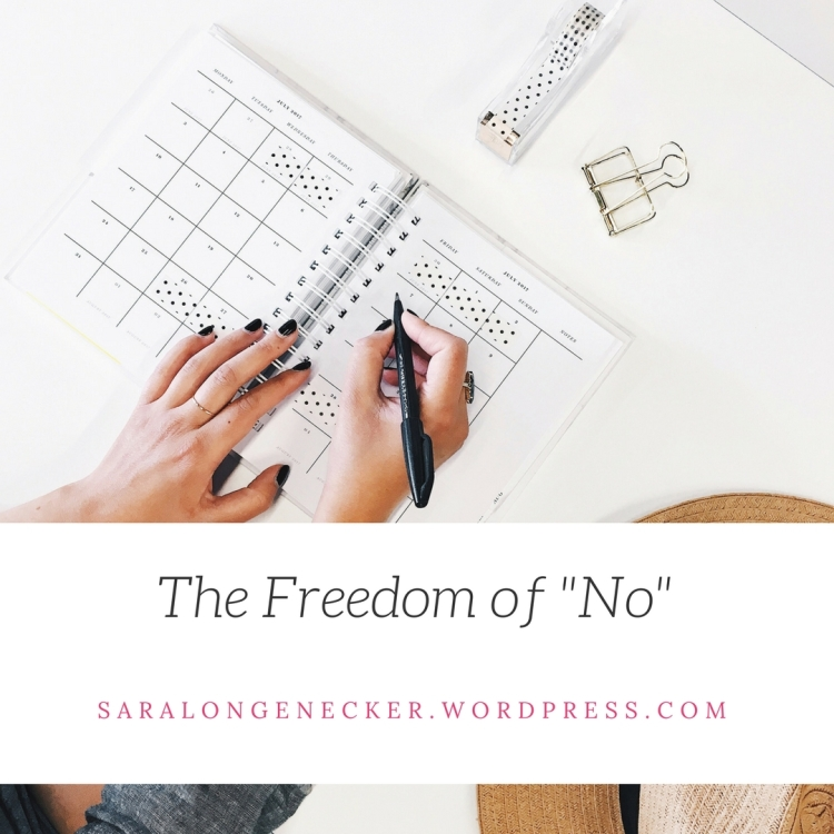 The Freedom of _No_