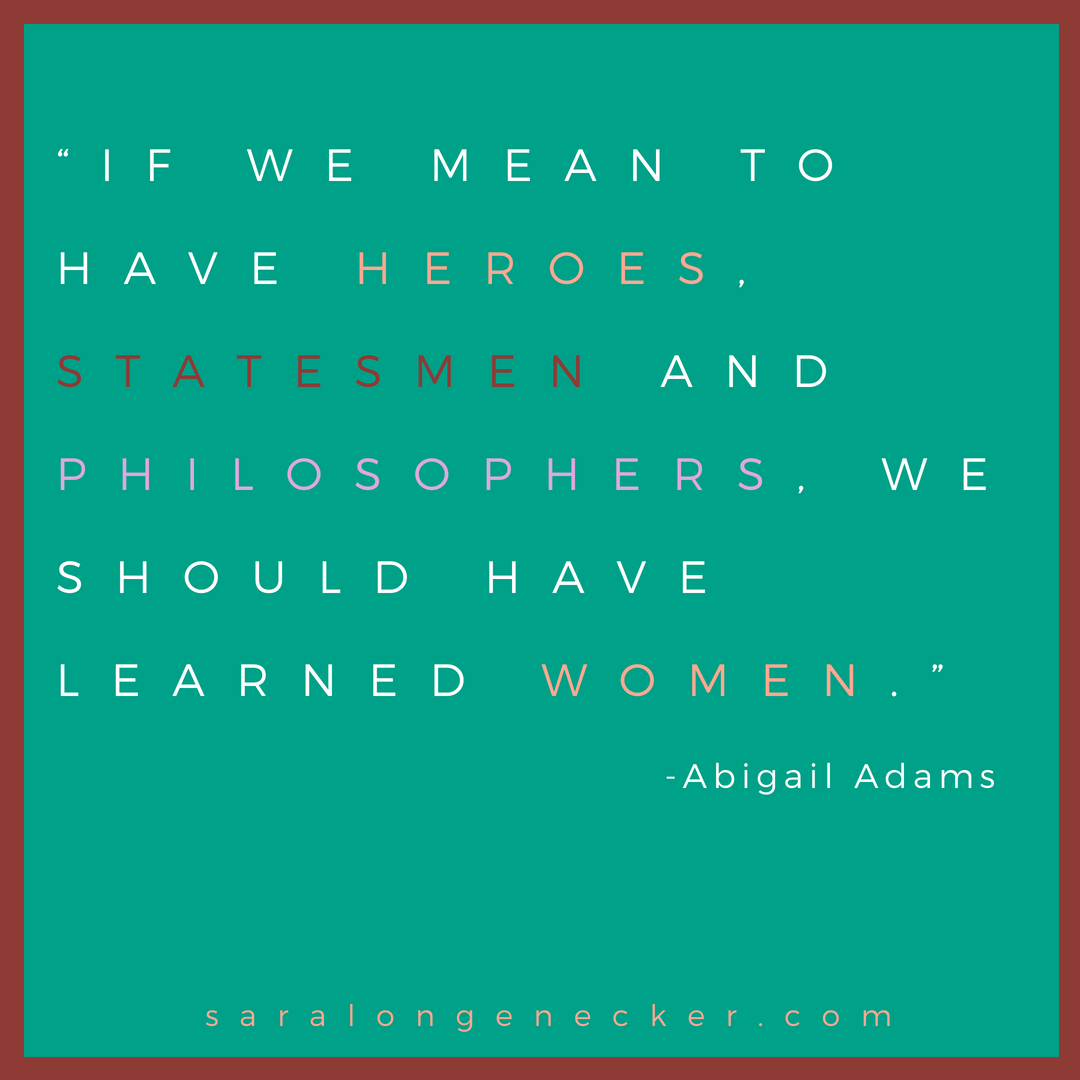 abigail adams quote