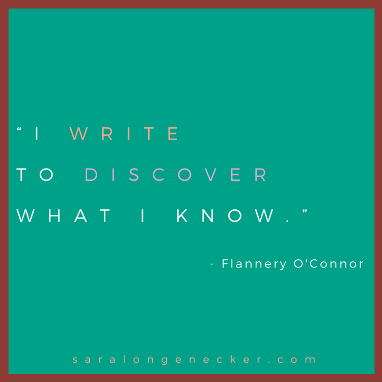 flannery oconnor quote