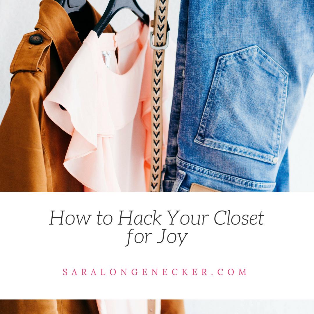 hack your closet