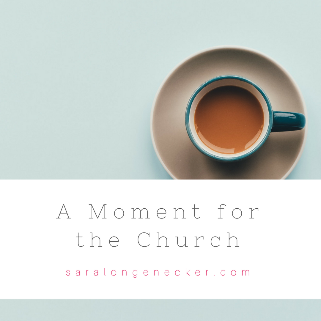 moment for the church