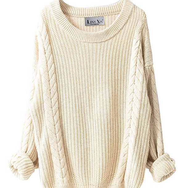 Amazon Cream Sweater