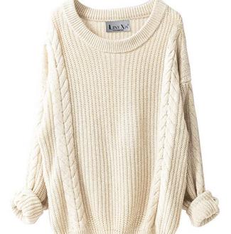 Amazon Cream Sweater