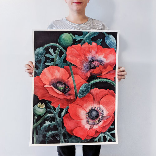 Lauren Michelle Reese Poppies