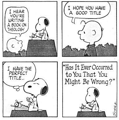 charlie brown theology meme