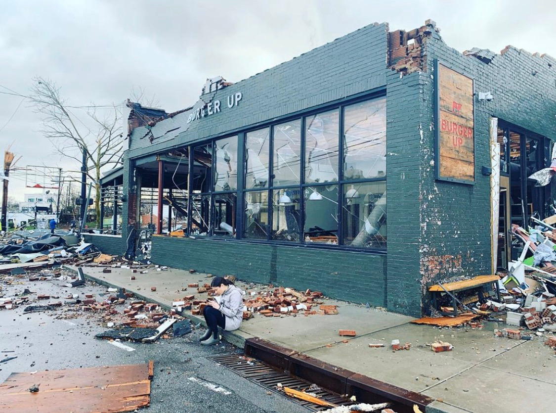 burger up east nashville tornado