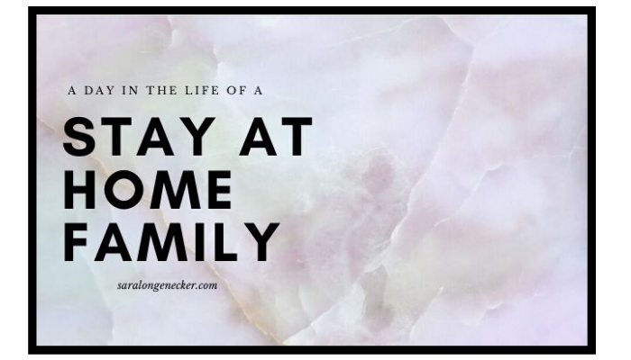 stay at home family
